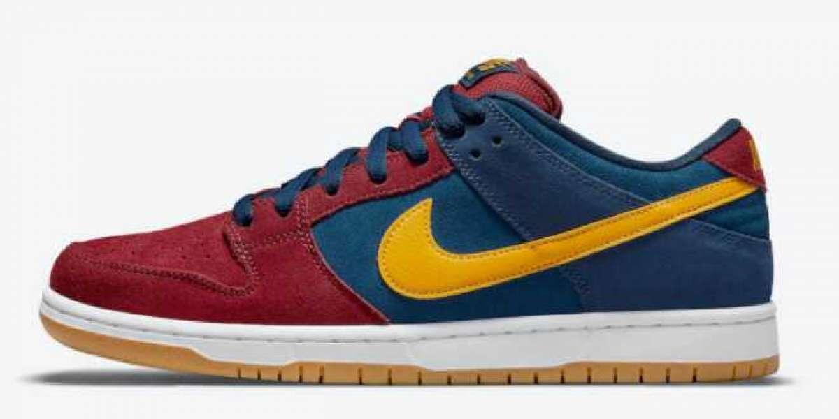 "2021 New Nike SB Dunk Low ""Barcelona"" DJ0606-400 Hot Sell !"
