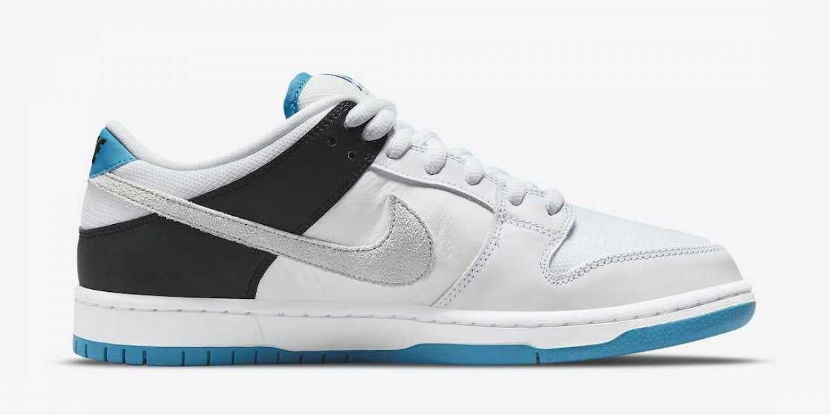 "2021 New Nike SB Dunk Low ""Laser Blue"" BQ6817-101 Hot Sell !"