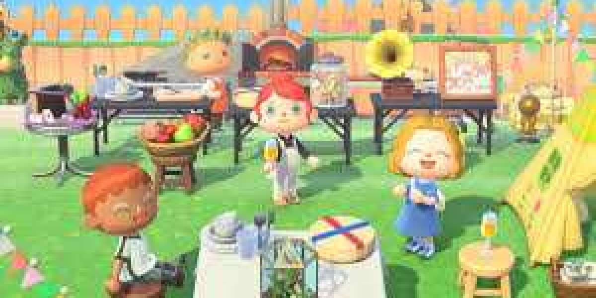 The way to place items in the middle of the table in Animal Crossing