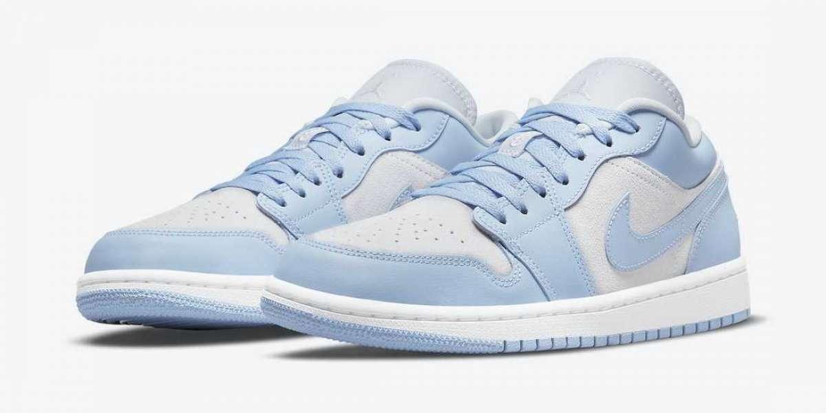 "Best Selling Nike Air Jordan 1 Low ""University Blue"" Lifestyle Shoes"