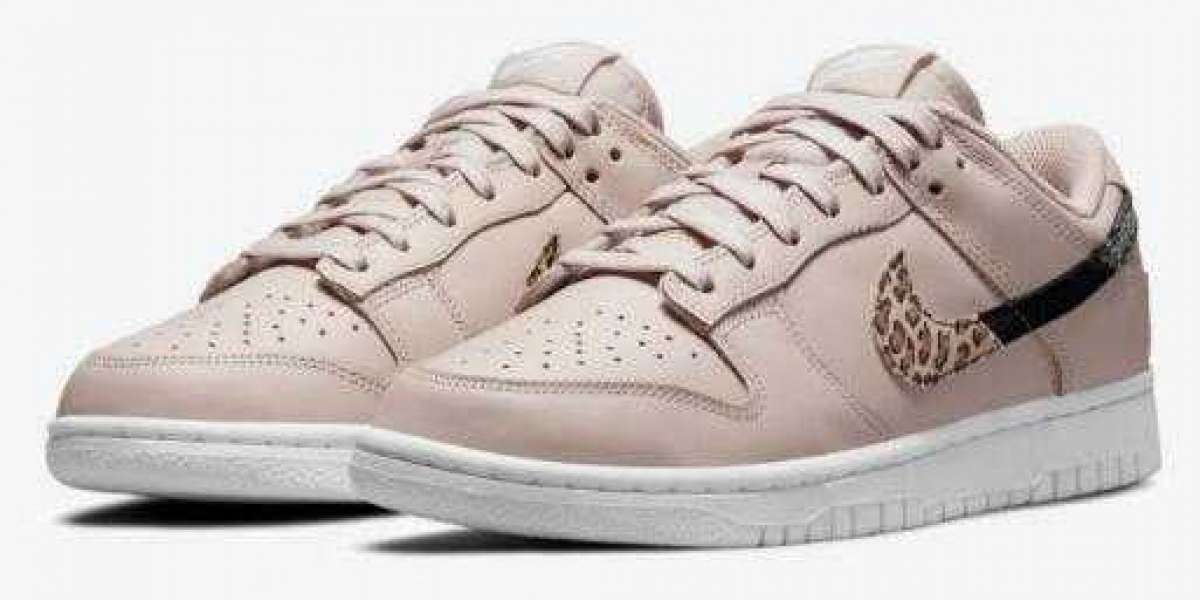Nike Dunk Low Animal Print Releasing With Pink Colorway