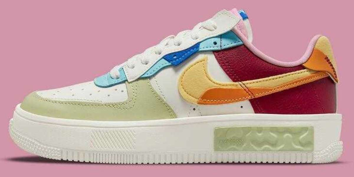The Nike Air Force 1 Fontanka Releasing With Fall-Friendly Multi-Color
